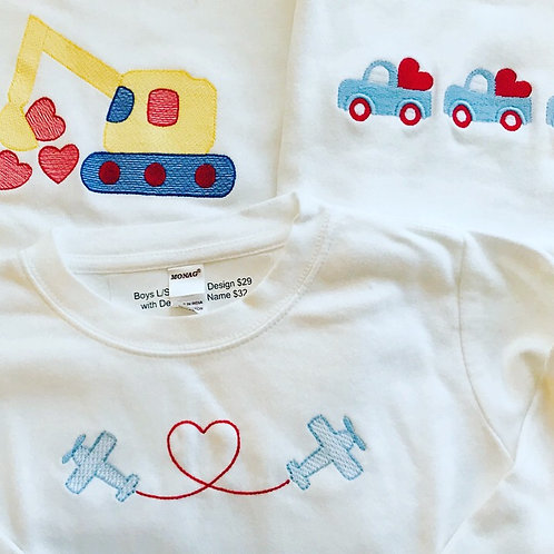 Boys Tee L/S with Design