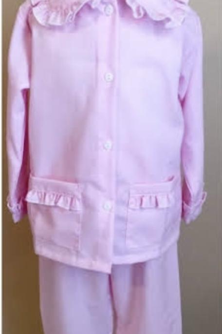 Pink Ruffle Pajamas