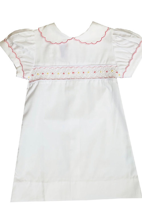 Lullaby Heaven Sent Pink Smocked Day Gown