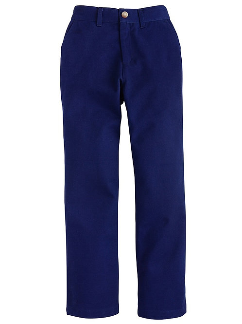 Little English Classic Navy Twill Pant