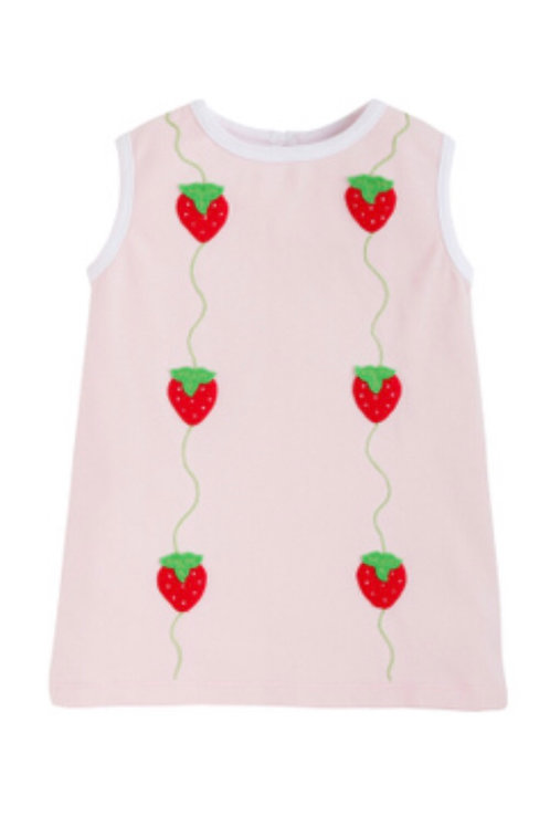 Little English Strawberry Suzy Top
