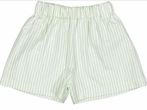 Sal&Pimenta Green Stripe Shorts