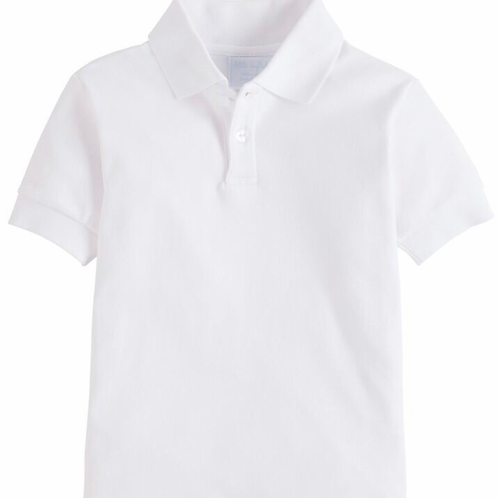 Little English White Polo