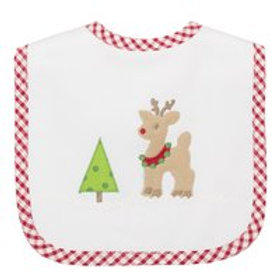 3 Marthas Reindeer Medium Bib