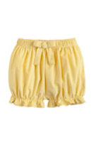 Little English Yellow Buttercup Cord Bow Bloomers
