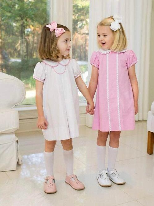Lullaby Set Pink Dot Tab Dress