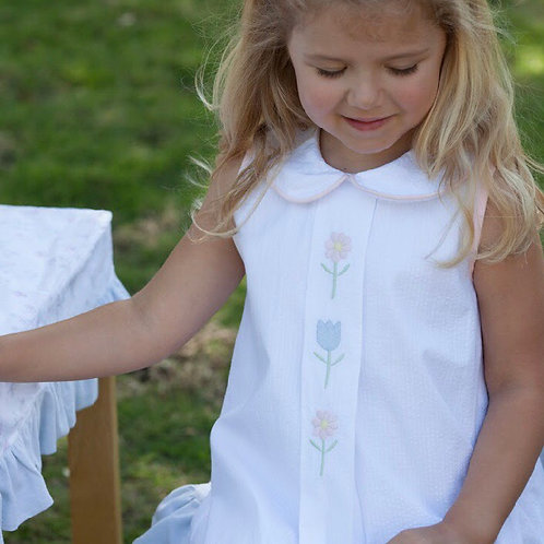 Lullaby Set Flower Embroidered Dress