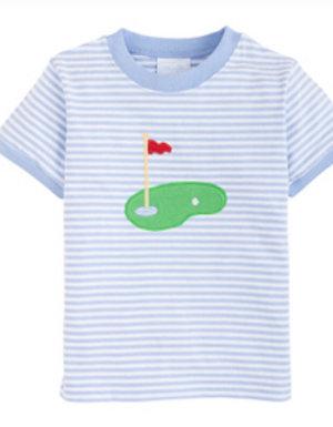 Little English Golf Applique Shirt