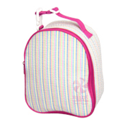 Rainbow Seersucker Gumdrop Lunchbox