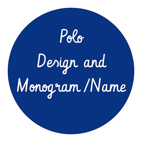 Polo Monogramming.