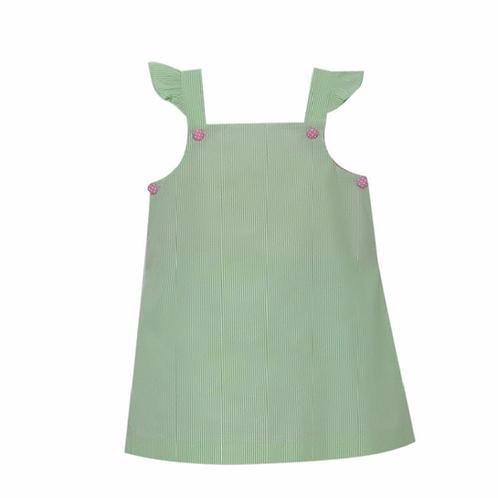 Lullaby Set Green Stripe Jumper 3t