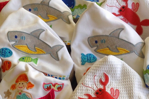 Shark Hooded Towel-3 Marthas