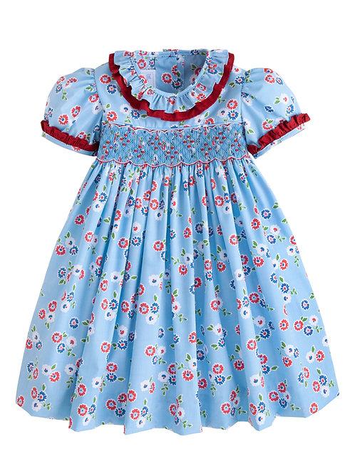 Little English Stormy Floral Francesca Dress