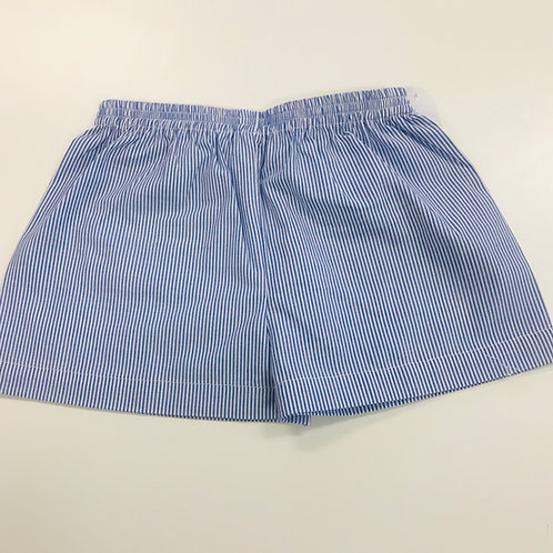 Lullaby Set Navy and White Striped Shorts