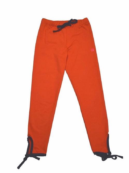 Set Athleisure Orange and Navy Avery Athletic Legging