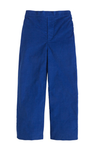 Little English Royal Basic Cord Pants-Flat Front