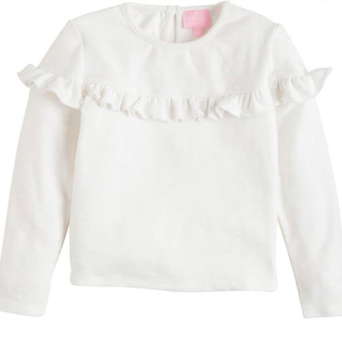 Bisby Kids White Emily Top