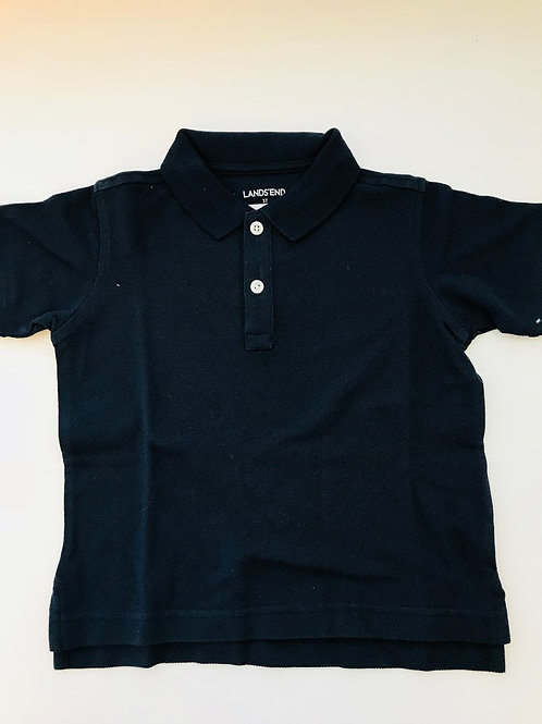 Navy Polo Soft Weave