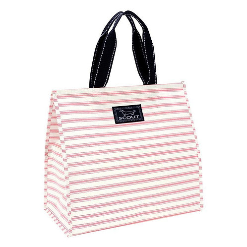Scout Themal Tote-Pink Stripe