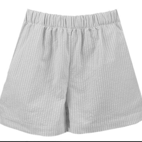 Lullaby Set White Seersucker Shorts