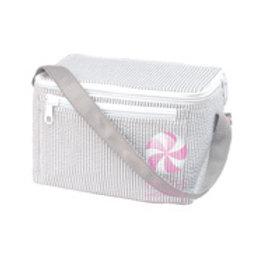 Grey Seersucker Lunchbox by Mint