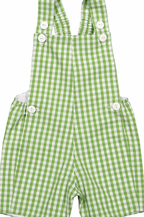 Sal & Pimenta Grass Green Boys Overall