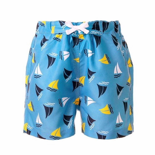 Rachel Riley Sailboat Swim Shorts