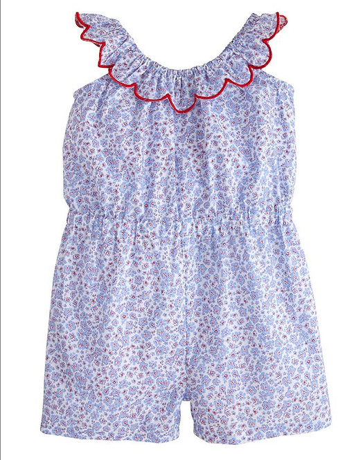 Bisby Kids Liberty Romper in Liberty Floral
