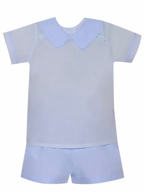 Lullaby Set Light Blue Nicholas Short Set 2t, 3t