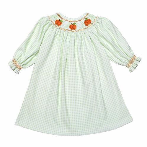 Baby Bliss Pumpkin Pima Dress