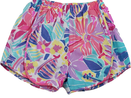 Set Athleisure Watercolor Elise Shorts