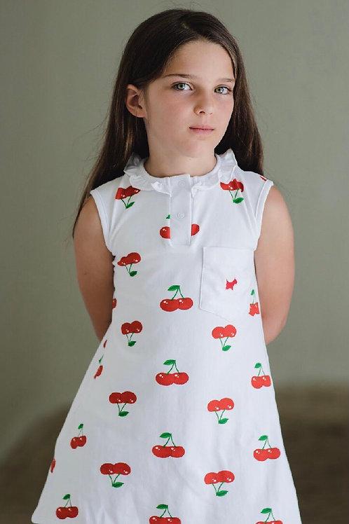 Sal & Pimenta Cherry Dress 2t, 4t, 5