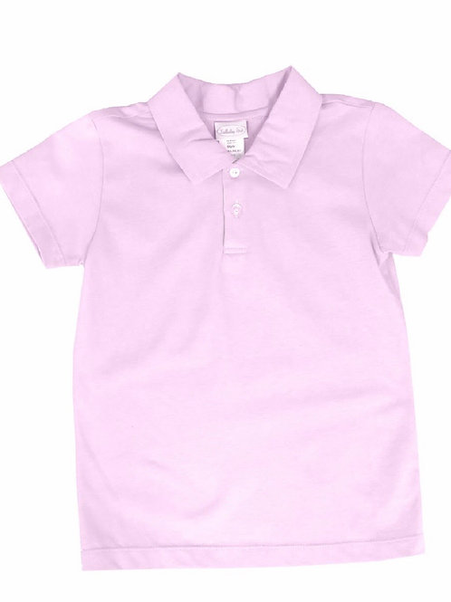 Lullaby Set Pink Knit Polo