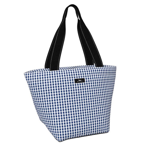 Scout daytripper in navy gingham
