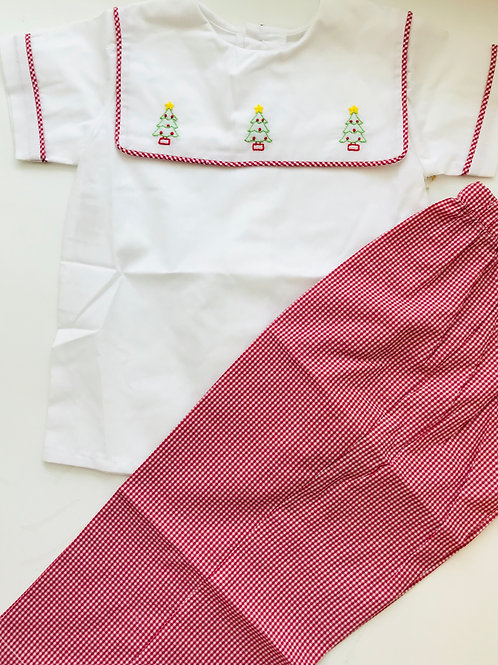 Christmas Tree Pant Set-Remember Nguyen 2t, 3t