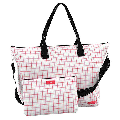 Scout Overpacker Tote Bag-Pink/Coral