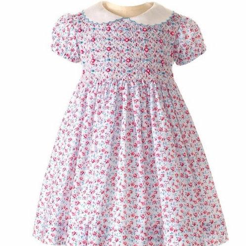 Rachel Riley Rose Smocked Dress
