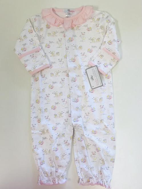 Baby Loren Pima Pink Nursery Rhymes Converter Gown