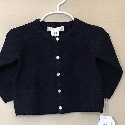 Petit Ami Navy Cardigan Sweater 18 mo-4t