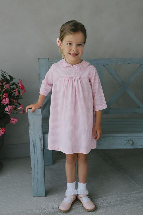 Pink Gingham Dunn Dress