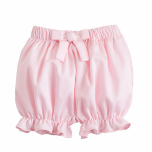 Little English Solid Pink Bow Bloomers