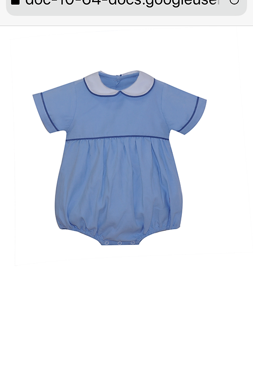 Lullaby Set Light Blue and Dark Blue Knit Bubble