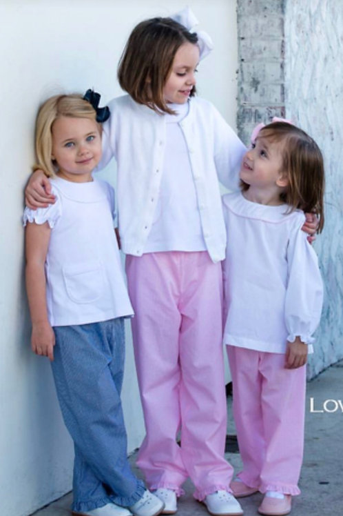 Lullaby Set Pink Gingham Pants