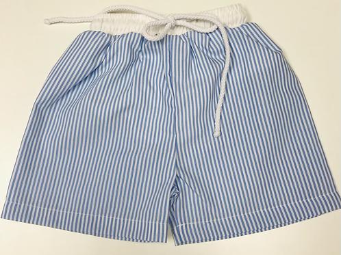 Sweet Dreams Light Blue Stripe Swimsuit