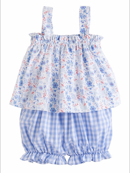 Little English Rosemary Floral Kylee Bloomer Set