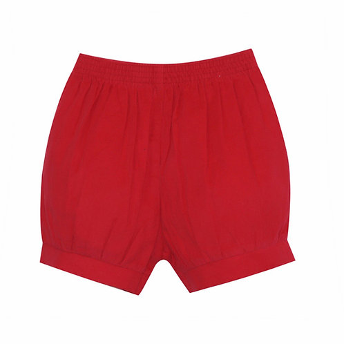 Lullaby Set Red Cord Banded Shorts
