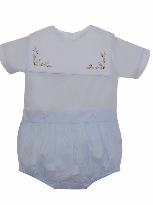 Lullaby Set Holly Hope Chest Button-On Bubble 3, 9 mo