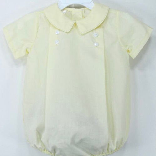 Baby Blessings Yellow Pleated Bubble