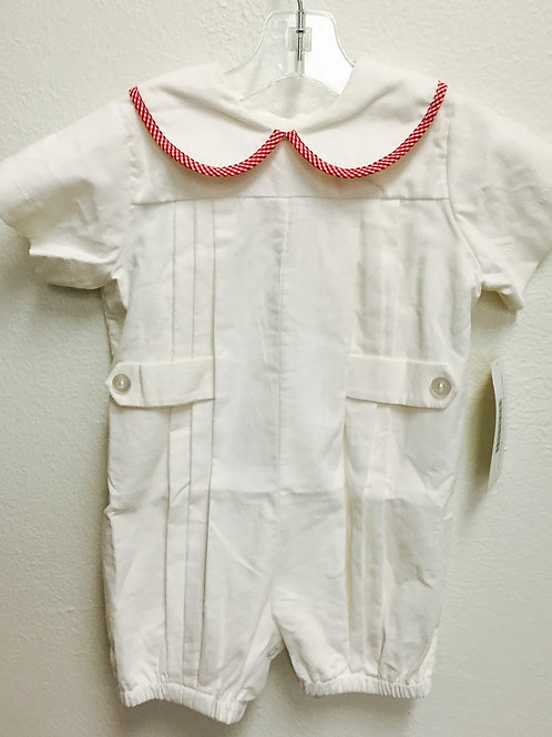 Lullaby Set Bubble with Gingham Trim