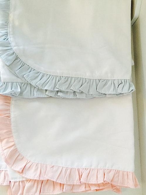 Ruffle Edge Blanket